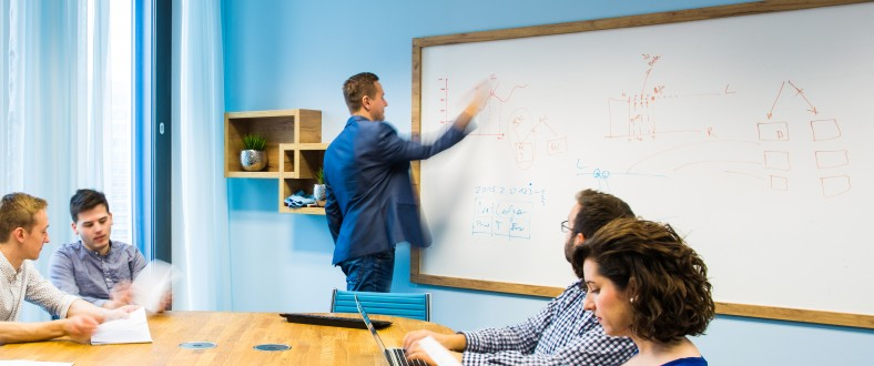 Chytrá zeď je skvělá pro brainstormingy i strategické plánování